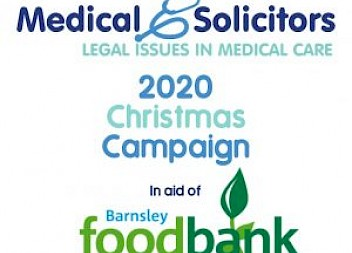 Medical Solicitors to support Barnsley Foodbank this Christmas