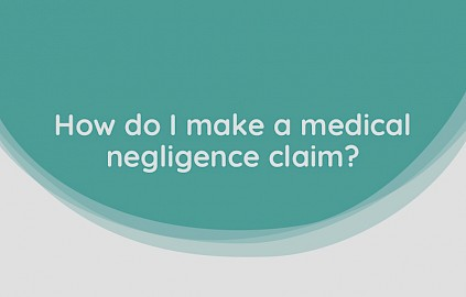 Listen to Matthew's advice on making a medical negligence claim.