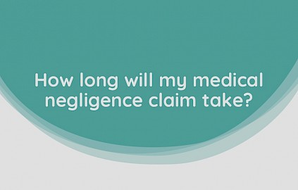 Matthew explain what impacts how long a medical negligence claim can take to settle.